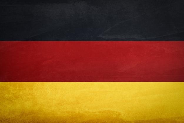 Flaga niemiec z teksturą tła
