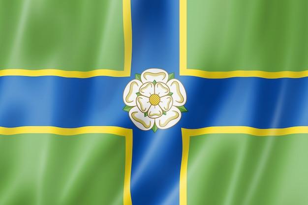 Flaga north riding of yorkshire county, wielka brytania
