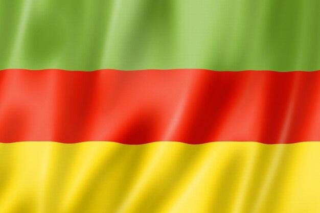 Flaga plemienia bodo, indie