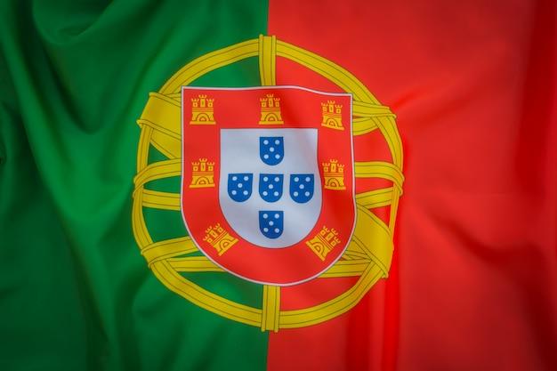 Flaga portugalii.
