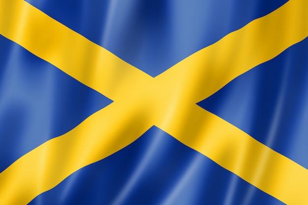 Flaga regionu mercia, wielka brytania