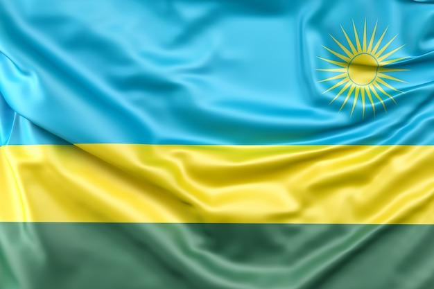 Flaga rwandy