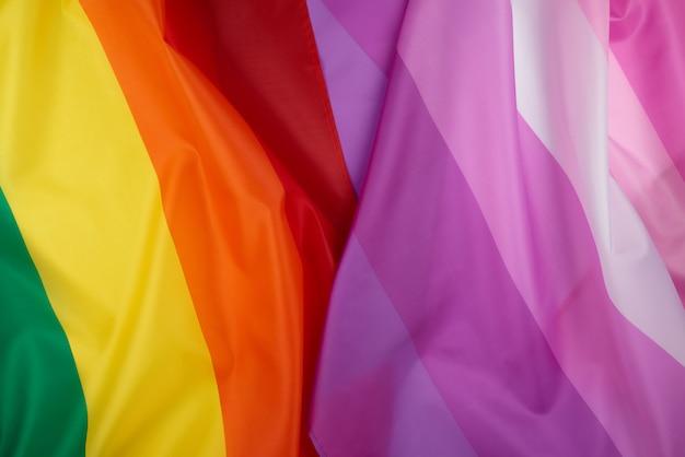 Flaga społeczności lgbt