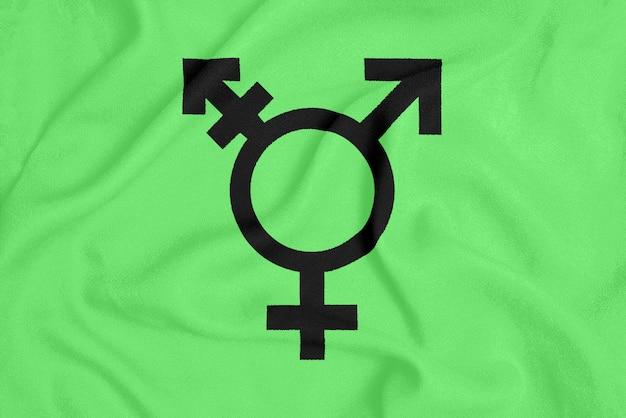 Flaga społeczności transpłciowej lgbt