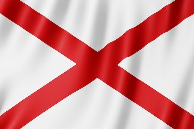 Flaga stanowa alabama