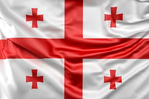 Flaga stanowa gruzji
