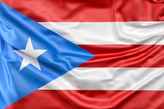 Flaga stanowa puerto rico