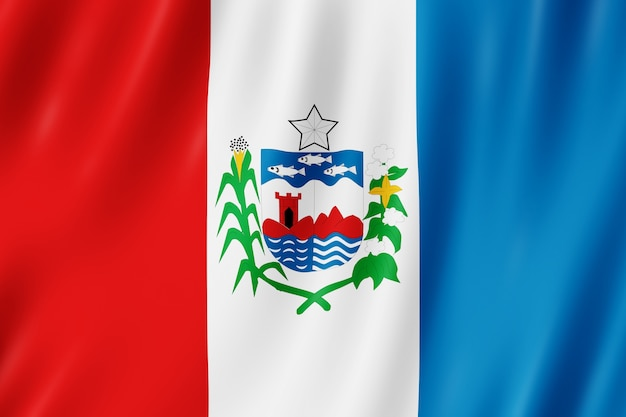 Flaga stanu alagoas w brazylii