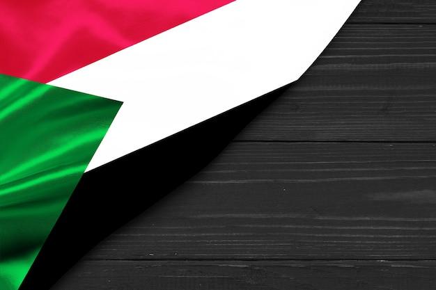 Flaga sudanu kopia przestrzeń