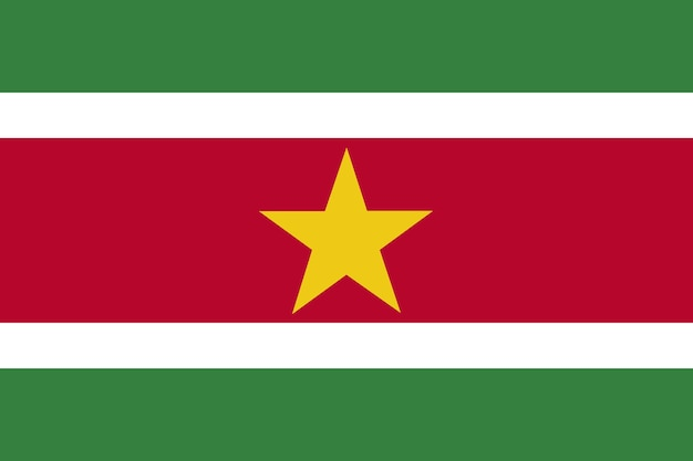 Flaga surinamu