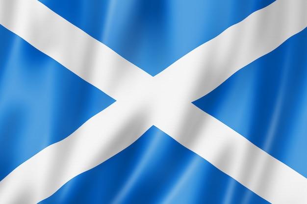 Flaga szkocji, wielka brytania