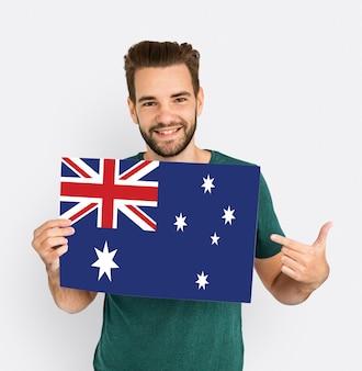 Flaga unii australijskiej kraju