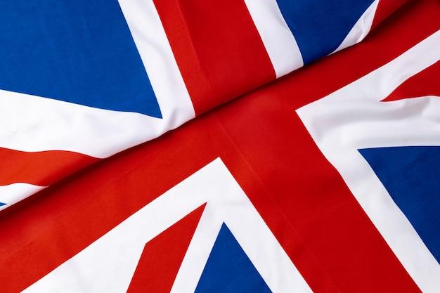 Flaga union jack wielkiej brytanii