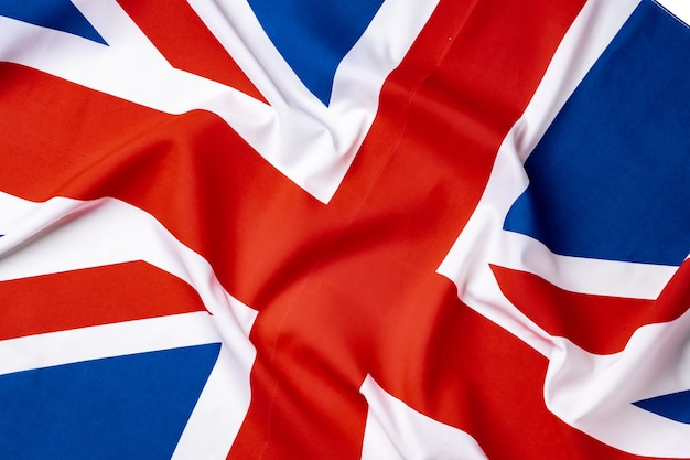 Flaga union jack z wielkiej brytanii, tło