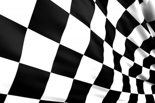 Flaga w kratkę