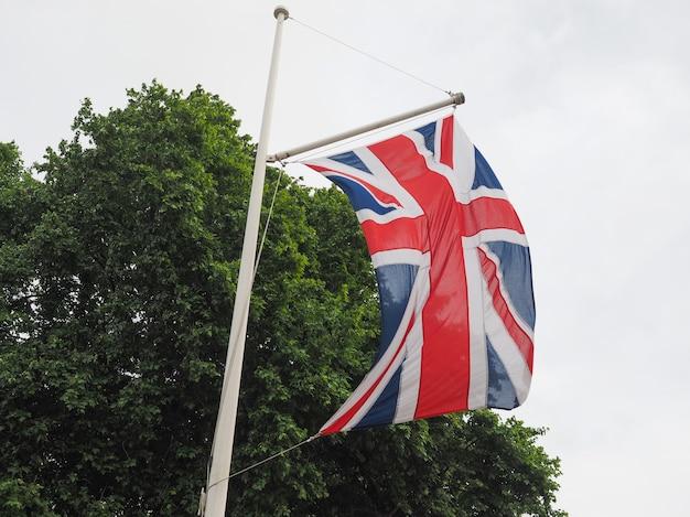 Flaga wielkiej brytanii (uk) aka union jack