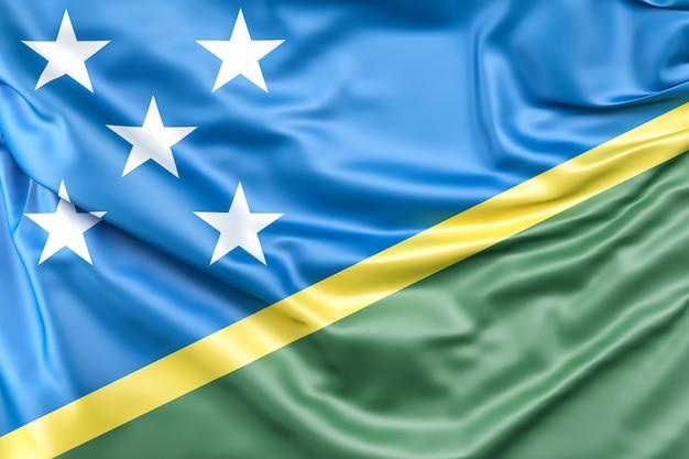 Flaga wysp salomona