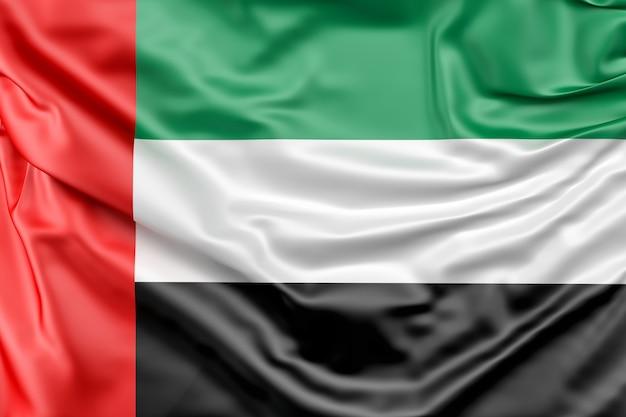 Flaga zjednoczonych emirat arabskich