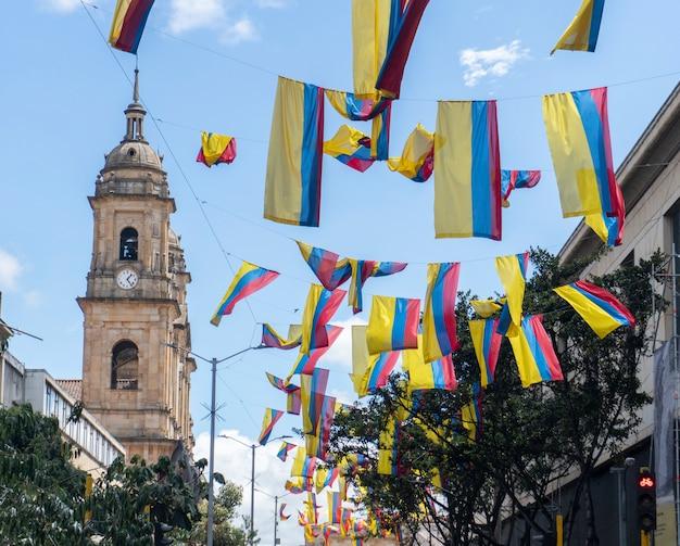Flagi kolumbii