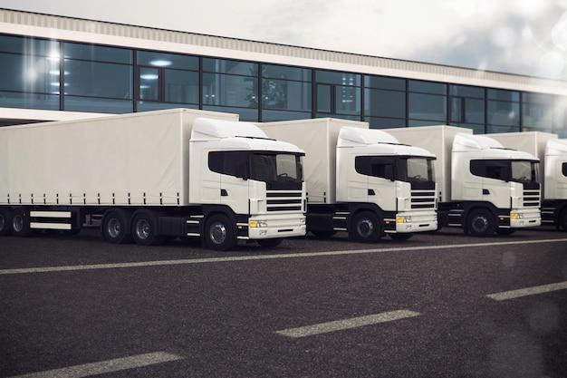 Flota samochodów ciężarowych