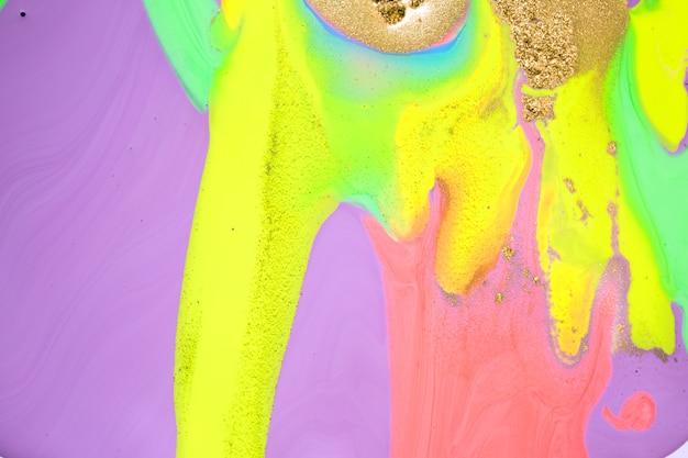 Fluorescencyjny marmur streszczenie płynne tło. żywa grafika tekstury. wzór falowania agatu.