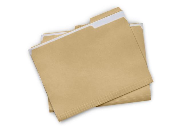 Foldery z plikami