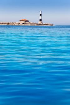 Formentera freus faro en pou latarnia morska porcs