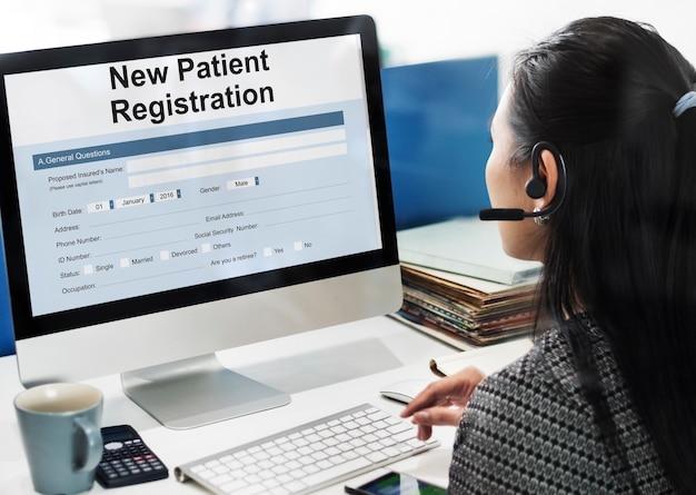 Formularz informacyjny pacjenta analiza rekordu koncepcja medyczna