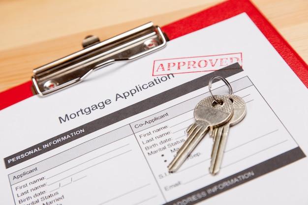 Formularz wniosku o kredyt hipoteczny