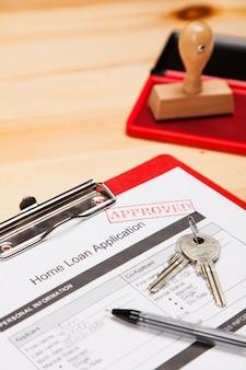 Formularz wniosku o kredyt mieszkaniowy