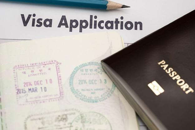 Formularz wniosku wizowego