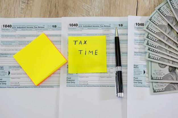 Formularze podatkowe 1040