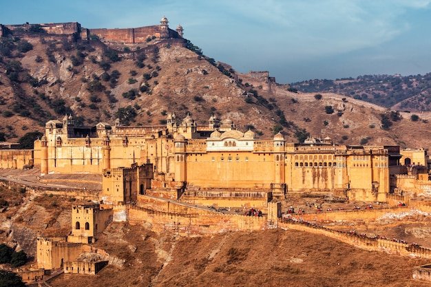 Fort amer (amber), rajasthan, indie