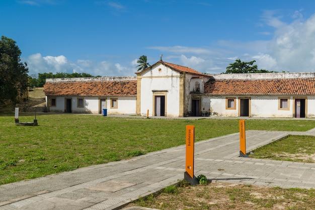 Fort orange, itamaraca, pernambuco, brazylia, 25 lipca 2021 r.