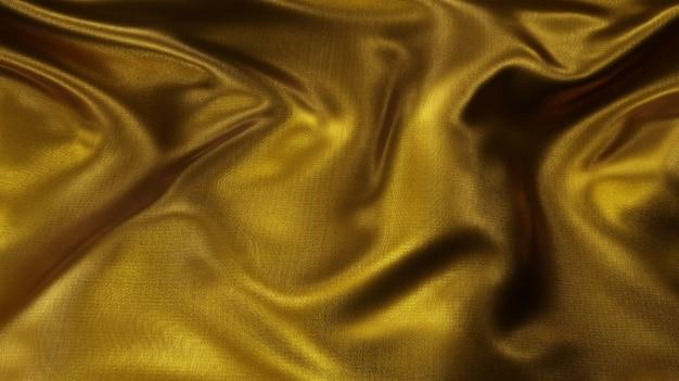 Fortun i luksusowa złota tkanina nici tekstura tło