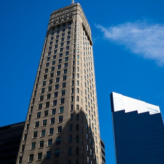 Foshay tower w downtown minneapolis, hrabstwo hennepin, minnesota, usa