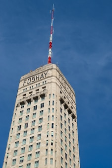 Foshay tower w downtown minneapolis, hrabstwo hennepin, minnesota, usa