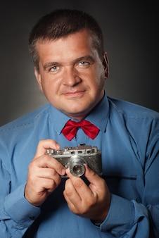 Fotograf staromodny.
