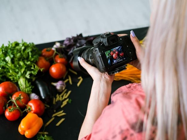 Fotografia kulinarna blog fotografia stylista fotograf koncepcja