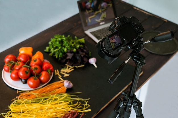 Fotografia kulinarna, studio fotograficzne, koncepcja bloga artystycznego za kulisami