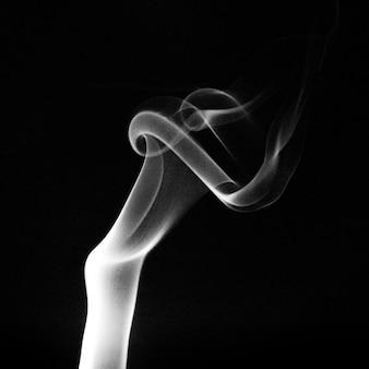 Fotografia martwa natura strzał dymu