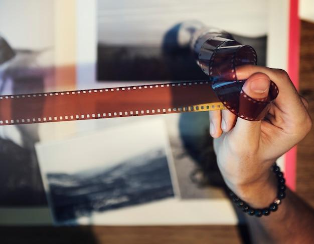 Fotografia pomysłów kreatywnie zajęcie projekta studia pojęcie