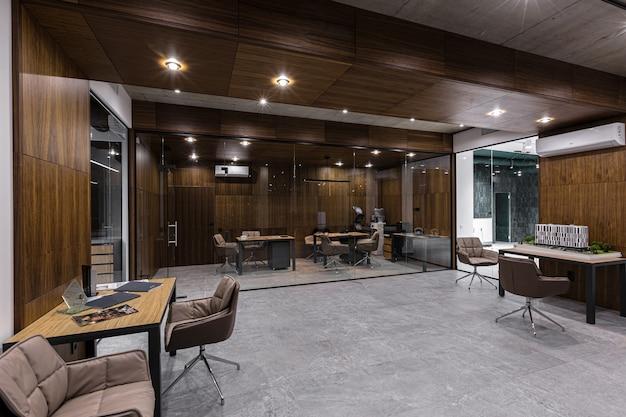 Fotografia wnętrz nowoczesne stylowe centrum biurowe