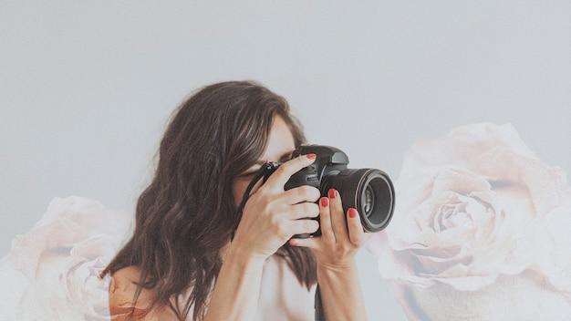 Fotografka robi zdjęcie