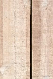 Fotografowana powierzchnia drewniana wykonana z desek. część starej konstrukcji budynku