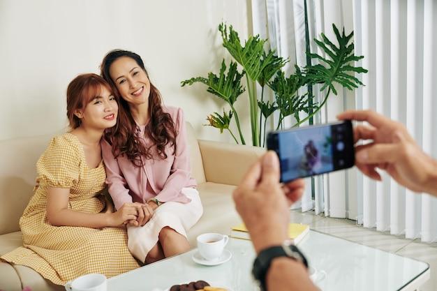 Fotografowanie matki i córki