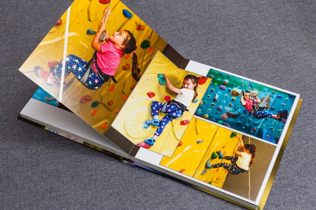 Fotoksiążka dla dzieci. emocjonalny portret dzieci.