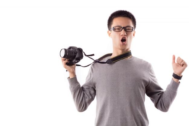 Fotoreporter sztuka technologia cyfrowa lustrzanka