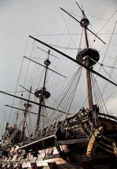 Fragment galeonu neptuna, wykorzystany przez r. polansky'ego w filmie piraci