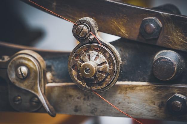 Fragment maszyny do szycia butów